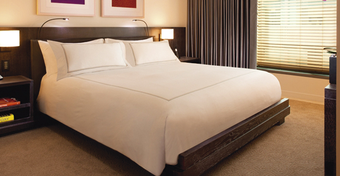 La tendencia por el blanco en la lencer a para hoteles - Ropa de cama para hosteleria ...