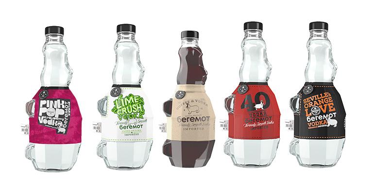 gama de vodkas beremot