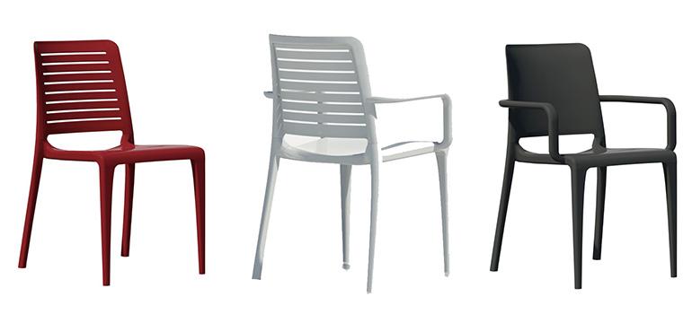 Sillas para terraza c modas y funcionales infohoreca for Modelos de ceramicas para terrazas