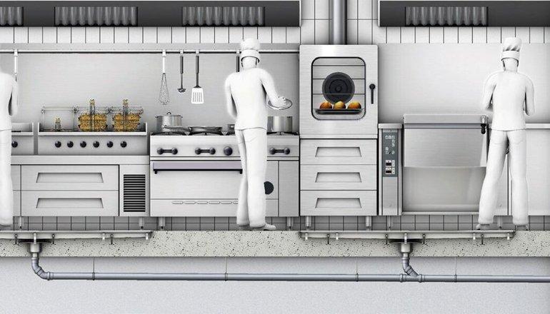 Aco mejora la gesti n de aguas y grasas en las cocinas - Suelos para cocinas industriales ...