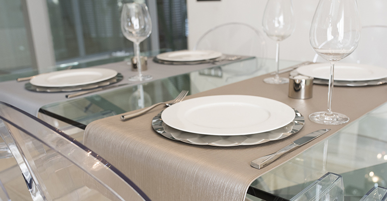 Manteles individuales y caminos de mesa para exteriores - Manteles y caminos de mesa ...