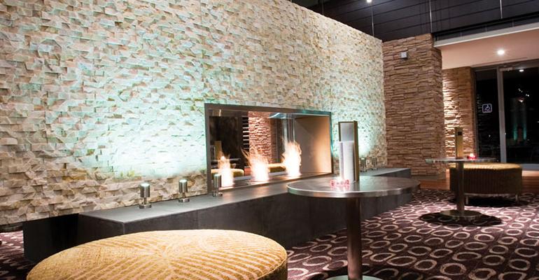 Chimeneas de bioetanol para interiores y exteriores infohoreca - Chimeneas de pared modernas ...