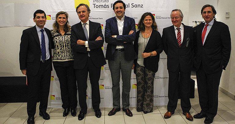 Francisco Hevia, Pilar Pascual, Ricardo Martí Fluxá, Darío Gil, Pilar Pascual, Josep Piqué y Tomás Pascual