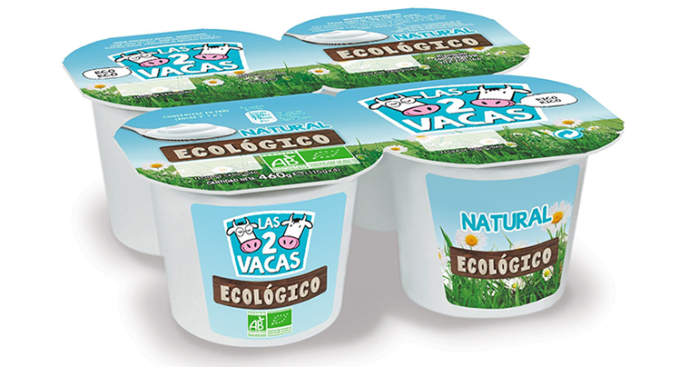 Yogures ecológicos danone sabor natural