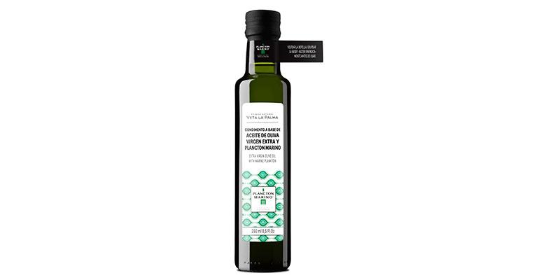 Aceite de Oliva Virgen Extra con Plancton Marino