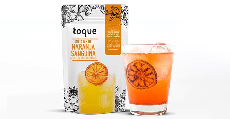 cítricos deshidratados de naranja sanguina y lima