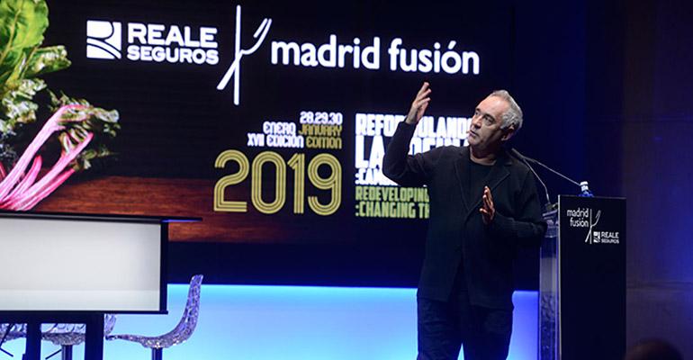 Ferran Adrià en Madrid Fusión 2019