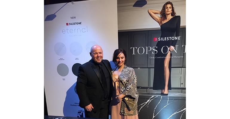 Alessia Serratore recoge el premio de Septime
