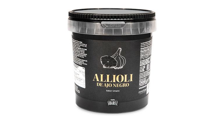 Allioli de ajo negro sabor umami