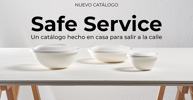 Productos para un servicio de mesa seguro