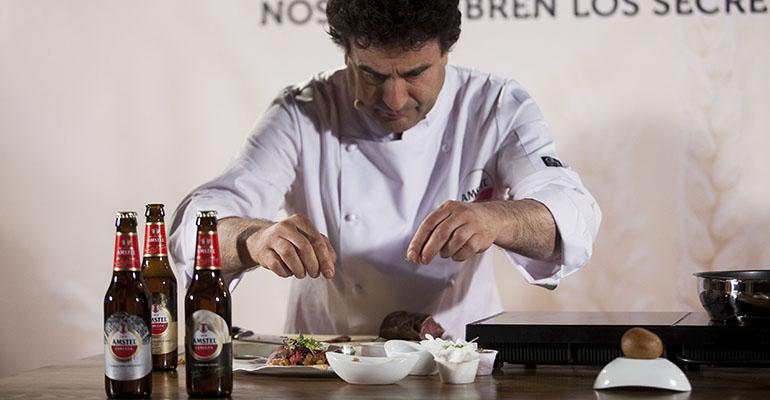 edición especial chef de amstel con pepe rodriguez