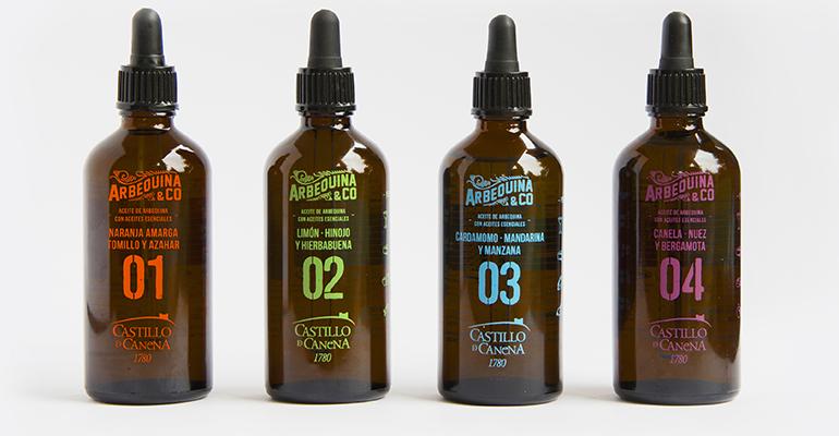 aceites esenciales castillo de canena con arbequina