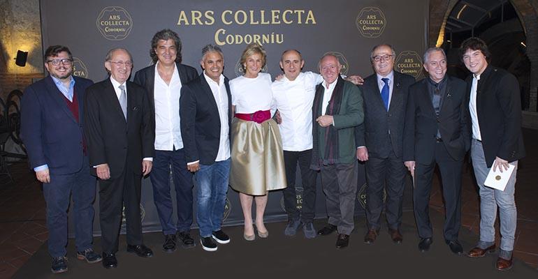 Presentación de  Ars Collecta Codorníu