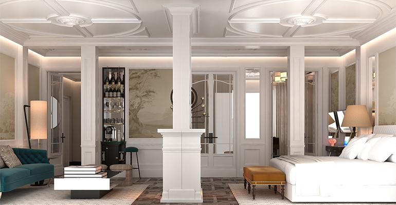 Habitación en el Bless Hotel Madrid