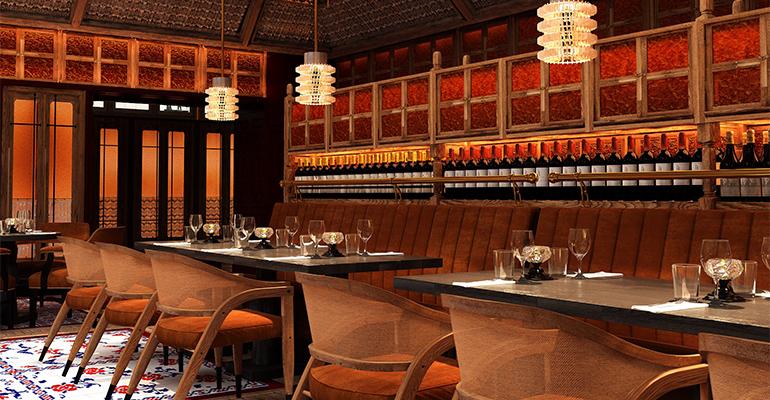 Restaurante del Bless Hotel Madrid