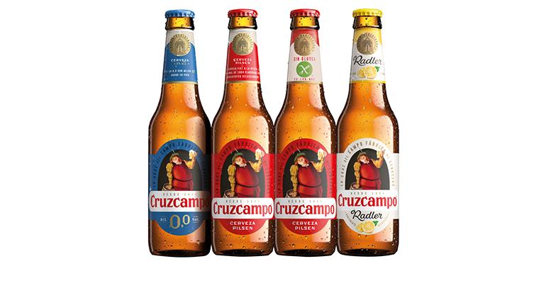 Gama de cervezas de Cruzcampo