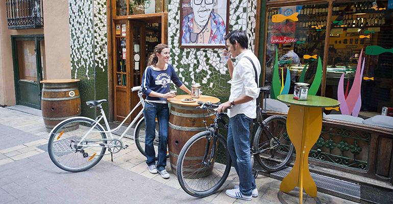 Bar bikefriendly