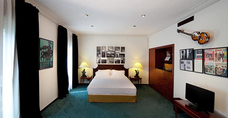 Suite Beatles Avenida Palace Barcelona antes