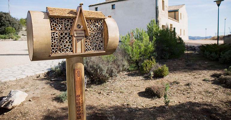 hotel para abejas