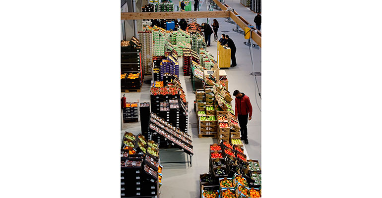 Biomarket interior