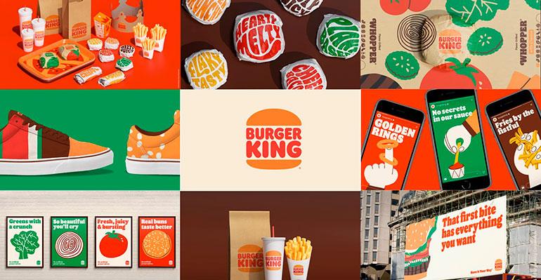 Burger King presenta su imagen más