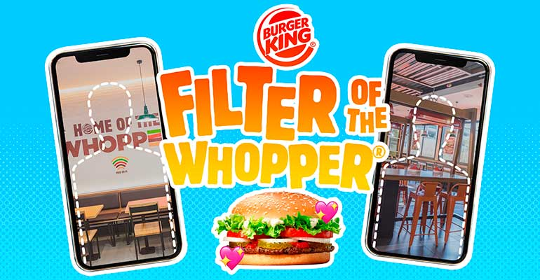 burger king filtro