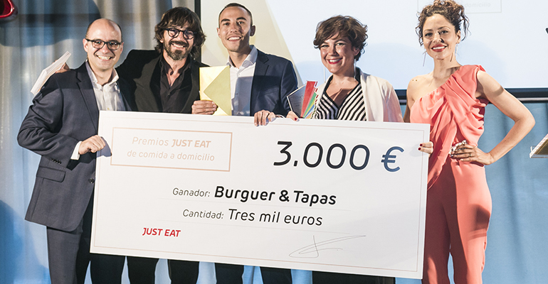 Burger & Tapas, premio al mejor restaurante Just Eat