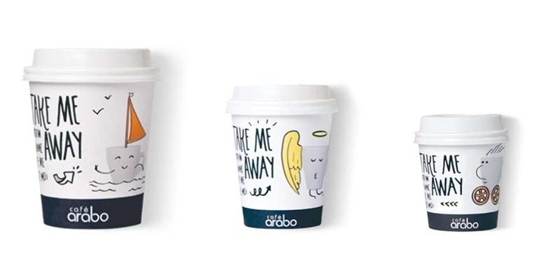 Café Arabo vasos take away