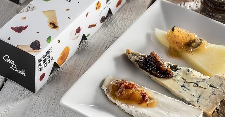 Maridajes de autor para quesos de Can Bech