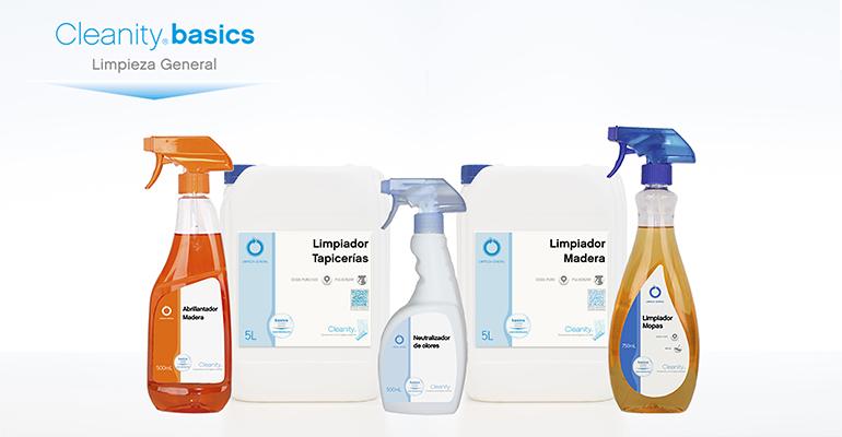 Gama de soluciones de Cleanity