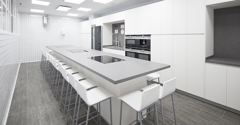 Cocina en la clase del espacio Contacto cocina