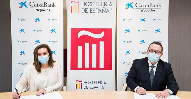 CaixaBank se une a Hostelería de España para impulsar el sector