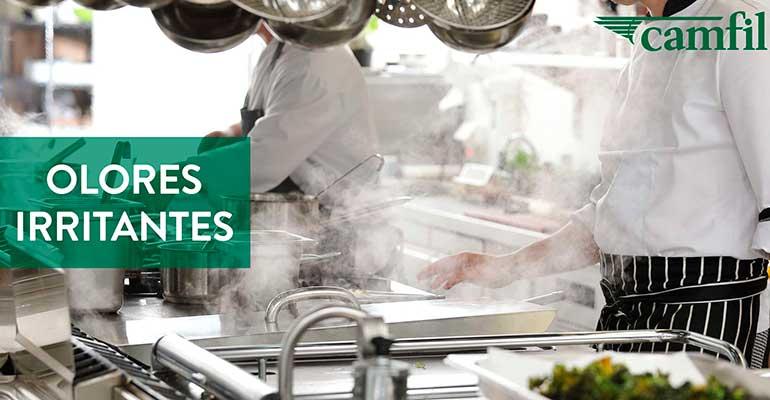 Camfil ofrece soluciones para eliminar los malos olores en restaurantes