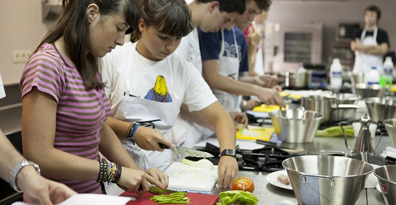 campamentos gastronómicos del BCC