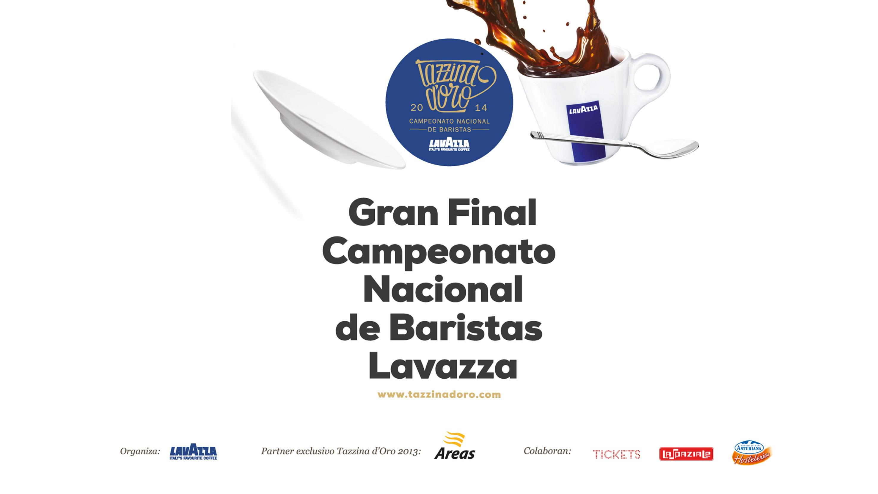 Campeonato baristas café lavazza