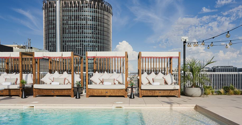 Canopy by Hilton hotel boutique piscina
