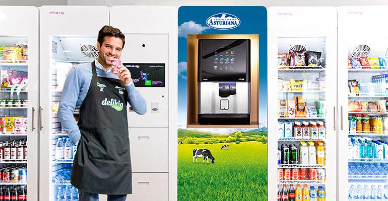 Capsa Food y Delikia desarrollan nuevos productos lácteos para vending
