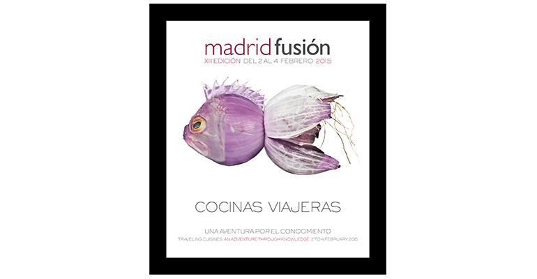 Cartel Madrid Fusión 2015