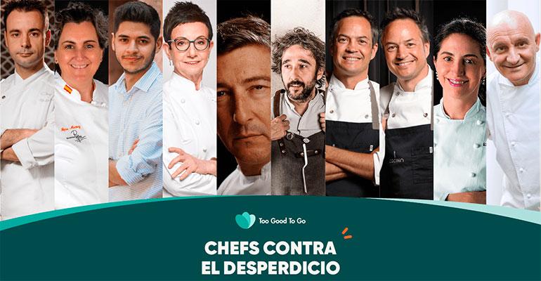 Chefs contra el desperdicio en el Día de la Gastronomía Sostenible