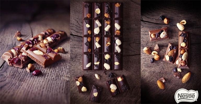 Chocolates Nestlé receta artesana