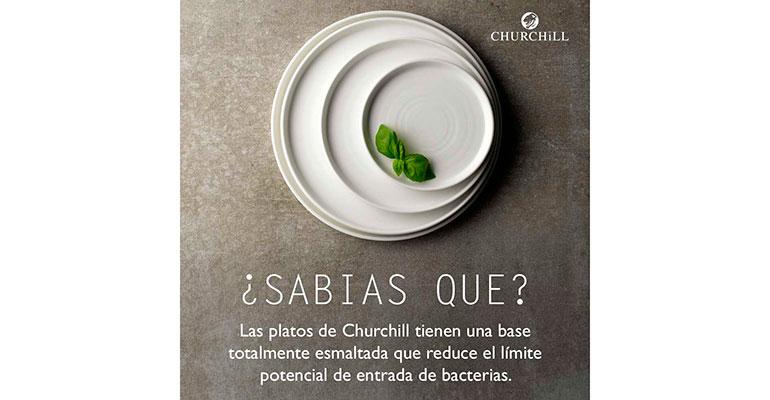 Churchill explica cómo sus piezas responden a los requisitos de higiene y seguridad