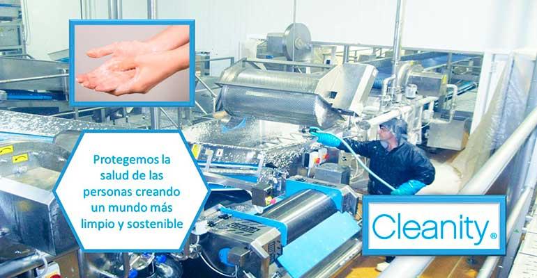 Cleanity coronavirus
