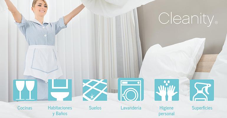 Cleanity ofrece asesoramiento al canal horeca para establecer protocolo de higiene