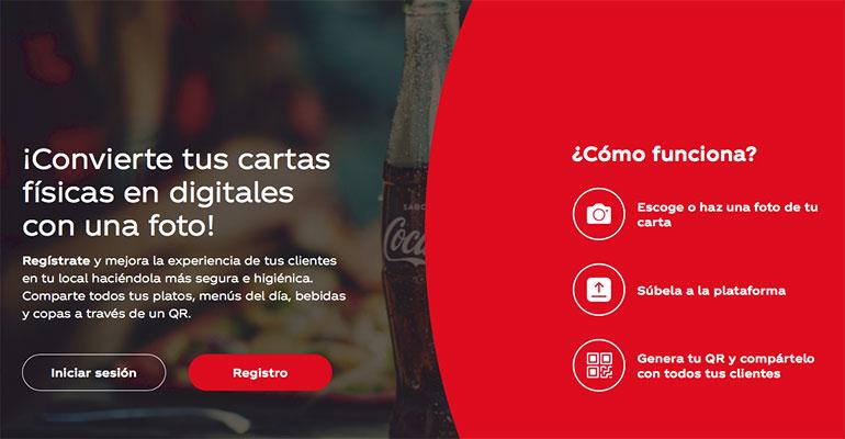 coca cola digitalización