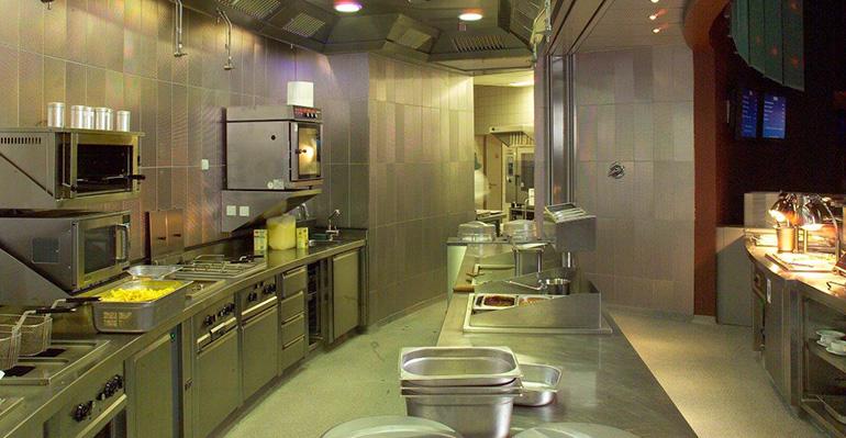 Protección de incendios en cocina comercial