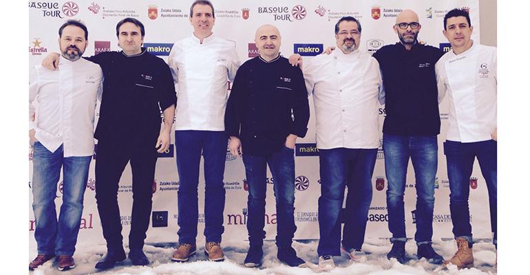Cocineros ganadores de campeonatos de pinchos en España 2014