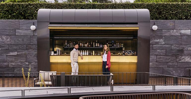 cocktail station mecanismo hotel akelarre