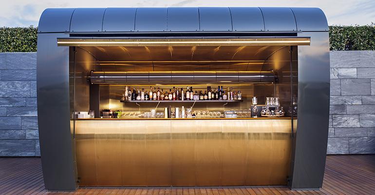 Cocktail station hotel akelarre