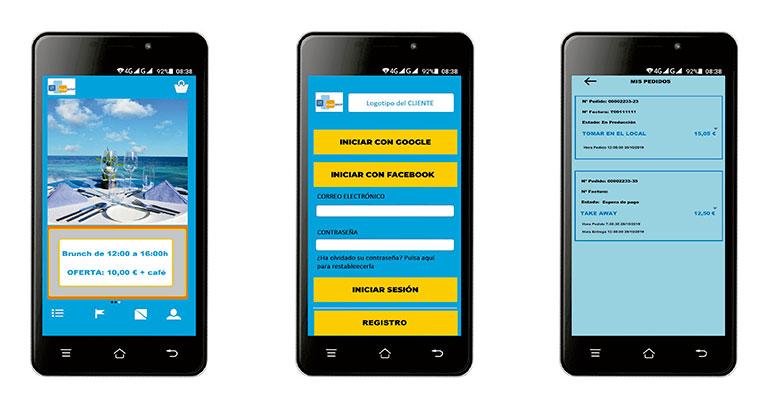 Aplicación para facilitar los pedidos a través del teléfono