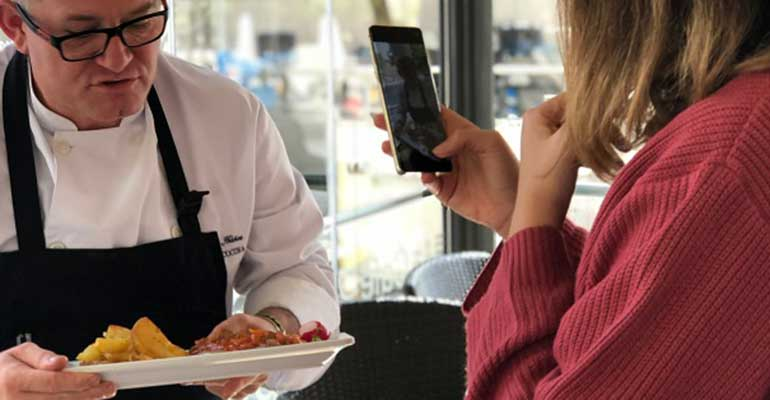 Comunicación del restaurante - marketing